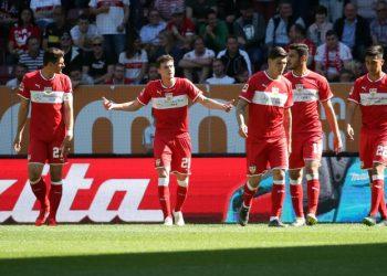 Der VfB Stuttgart ging mit 6:0 in Augsburg baden.