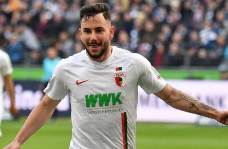 Marco Richter vom FC Augsburg