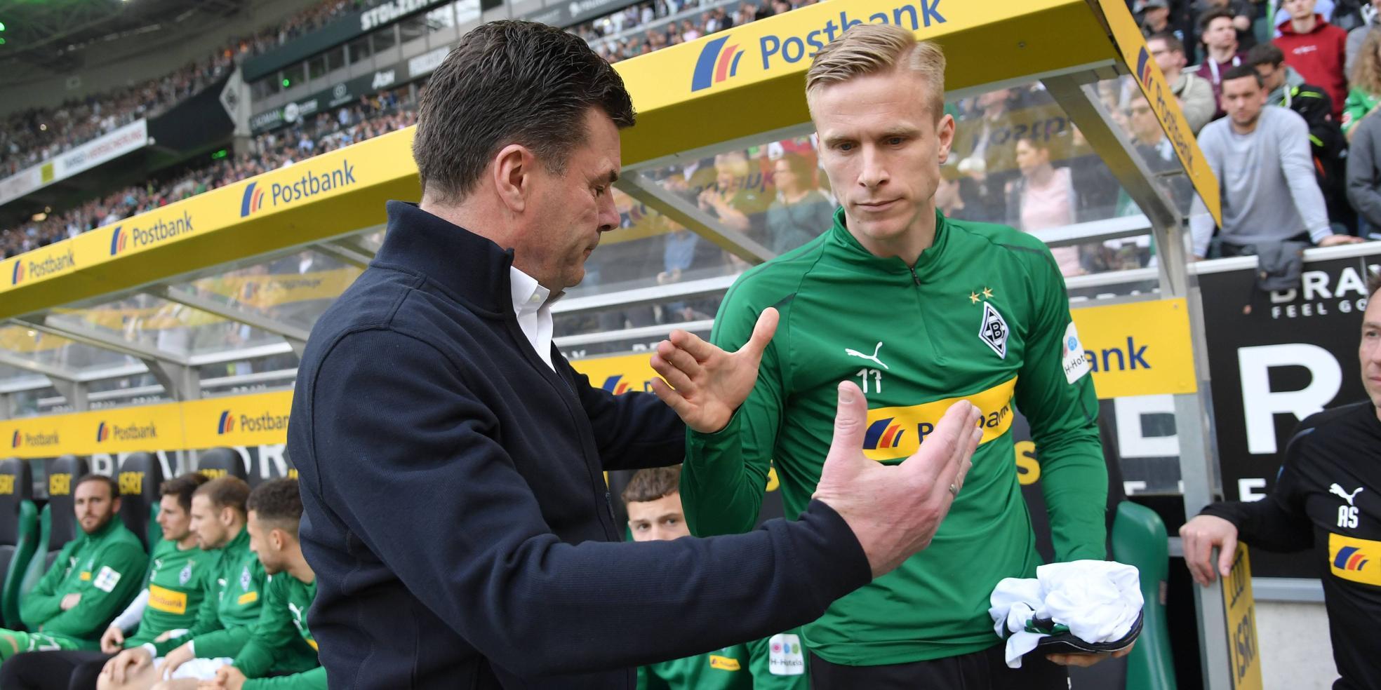 Oscar Wendt und Dieter Hecking