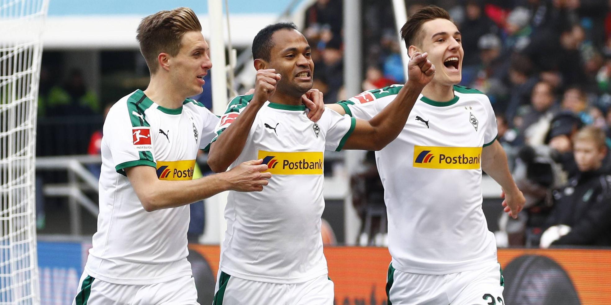 Raffael trifft für Borussia Mönchengladbach