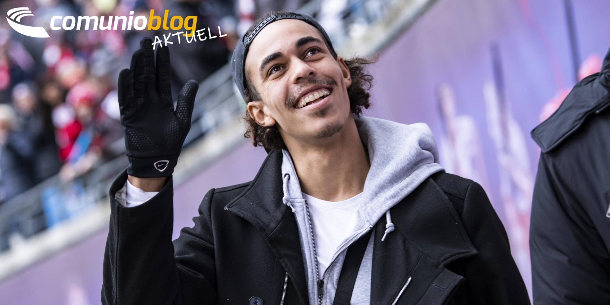 Yussuf Poulsen von RB Leipzig