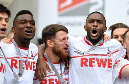 Der 1. FC Köln um Anthony Modeste ist zurück in der Bundesliga