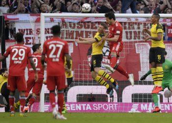 Der FC Bayern und Borussia Dortmund kämpfen am 34. Spieltag um die Meisterschaft.