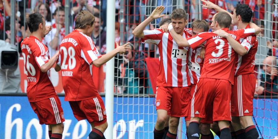 Thomas Müller erzielte einen Dreierpack gegen den VfL Bochum.