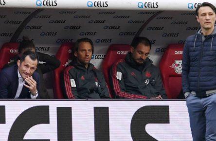 Aktuell noch Trainer des FC Bayern: Niko Kovac (r.)