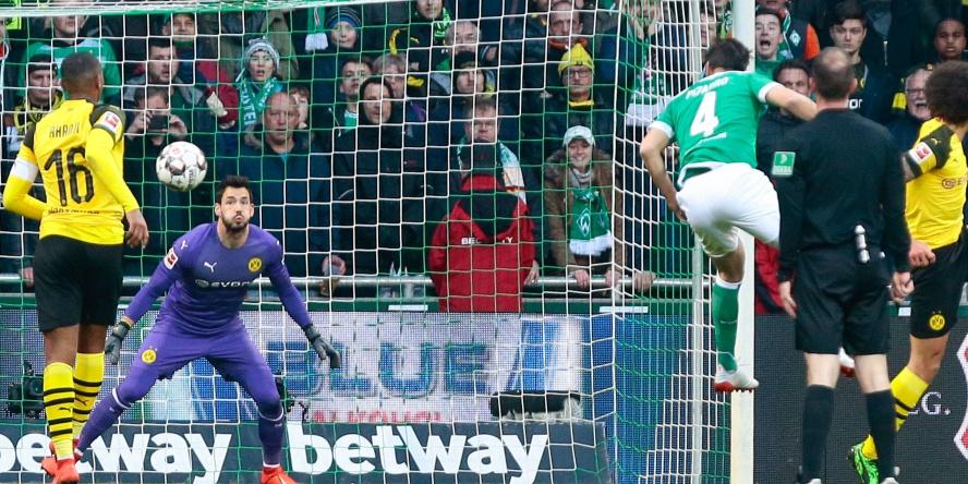 Claudio Pizarro zerstörte die Meisterschaftshoffnungen des BVB.