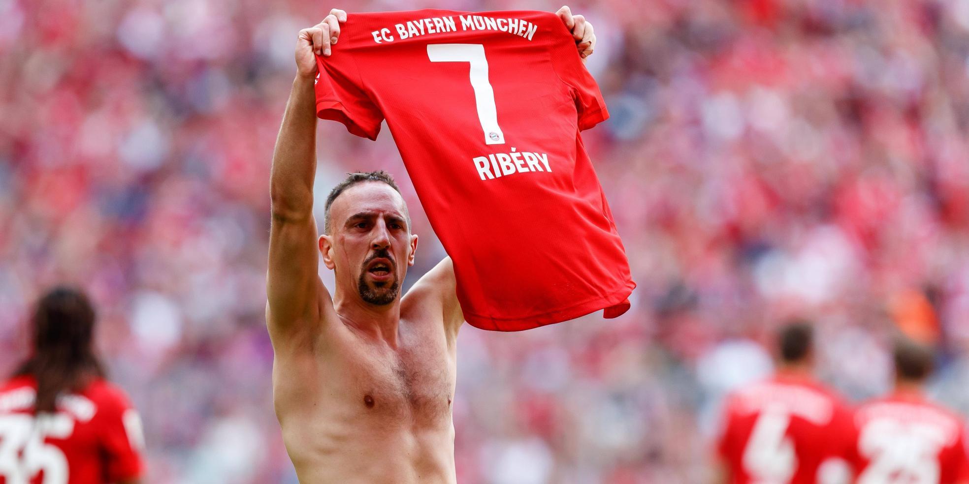 Franck Ribery in seinem letzten Bundesliga-Spiel