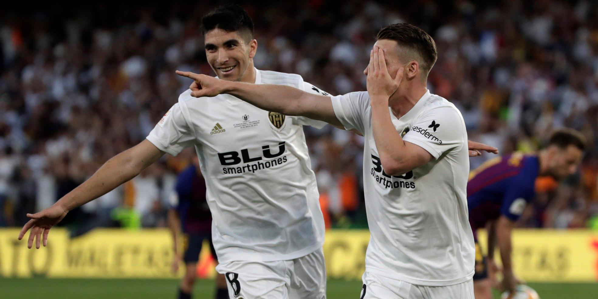 Kevin Gameiro trifft beim Pokalsieg für Valencia gegen Barcelona