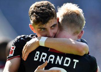 Kai Havertz und Julian Brandt