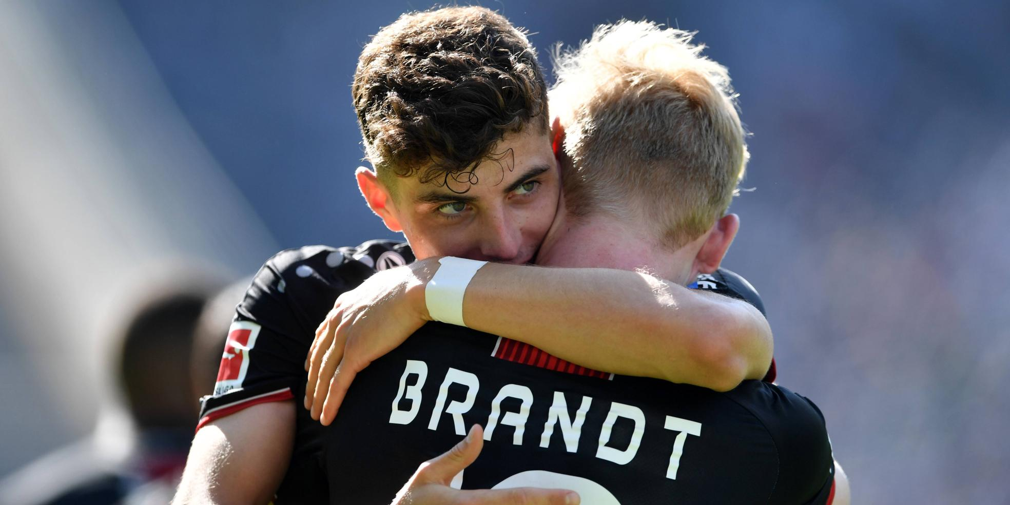 Kai Havertz und Julian Brandt