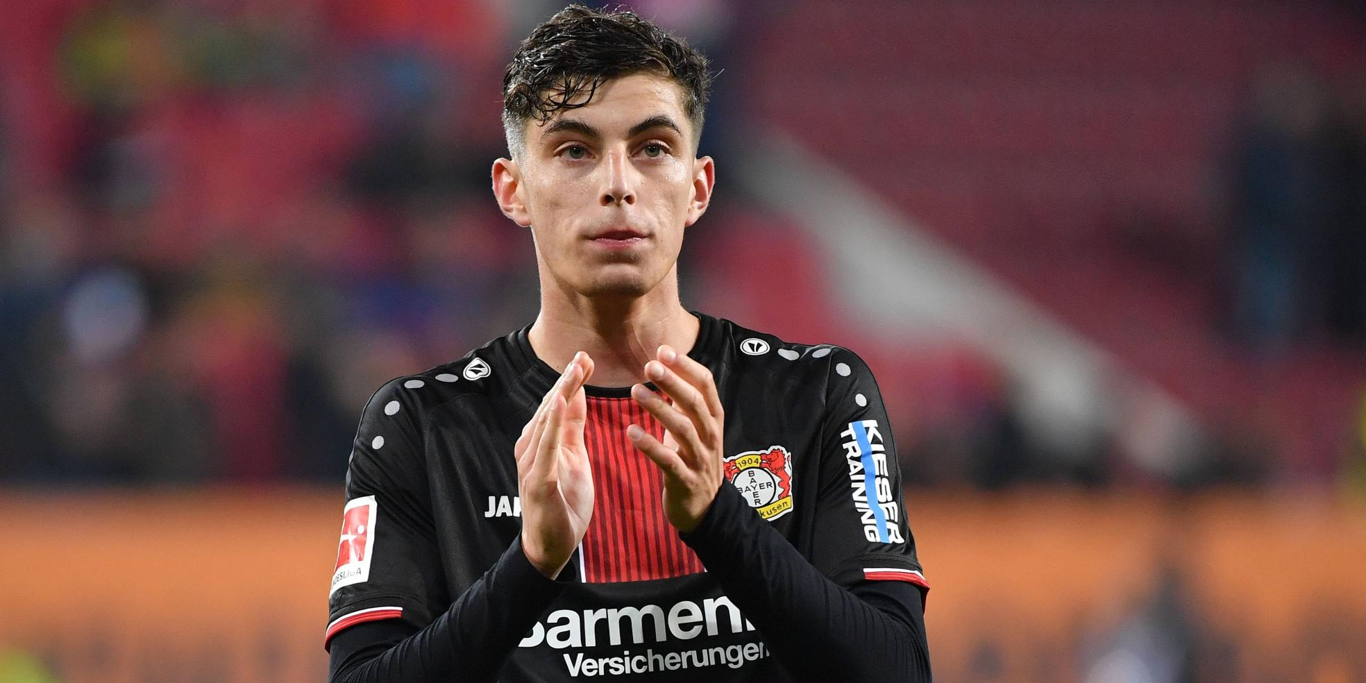 Kai Havertz von Bayer 04 Leverkusen