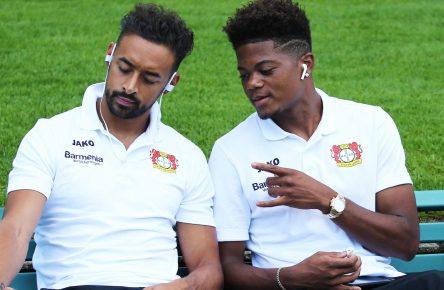 Leon Bailey und Karim Bellarabi