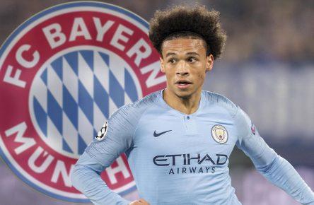 Leroy Sane von Manchester City