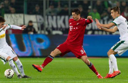 Robert Lewandowski gegen Thorgan Hazard