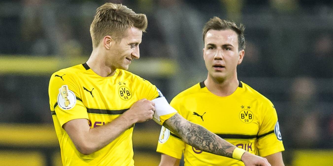 Marco Reus und Mario Götze von Borussia Dortmund