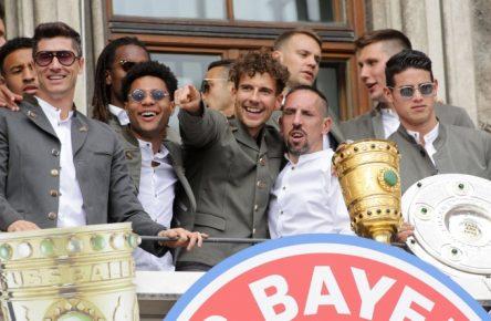 Der FC Bayern gewann in der Saison 2018/19 das Double.