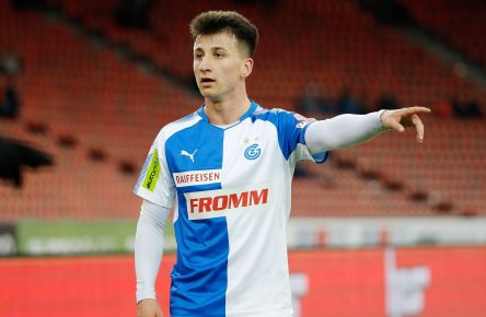 Kapic Neuzugang SC Paderborn Bundesliga Cropped