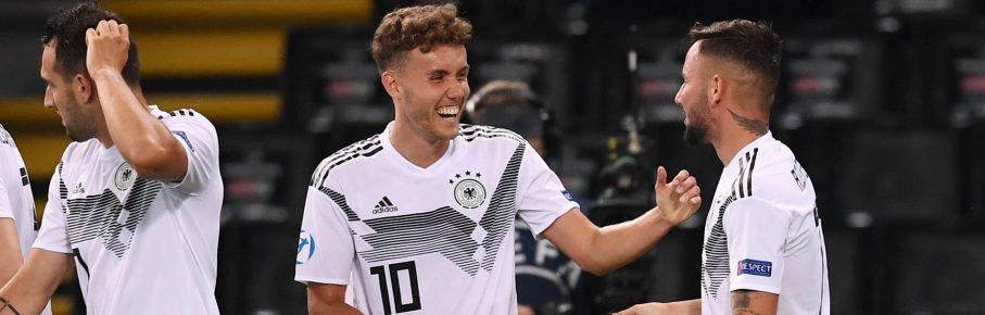 Waldschmidt Richter Freiburg Augsburg U21 EM Tor Gewinner Comunio Bundesliga Cropped(1)