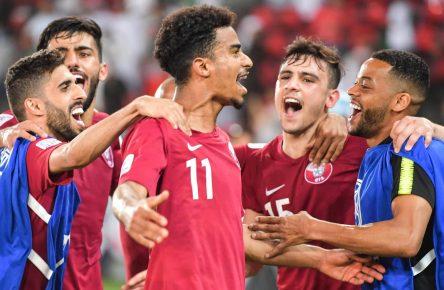 Akram Afif und Katars Fußballnationalmanschaft