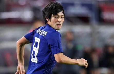 Shoja Nakajima von der japanischen Nationalmannschaft