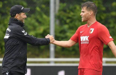 FC Augsburg Niederlechner Comunio Cropped