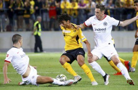 Eintracht Frankfurt kam gegen YB Bern ordentlich unter die Räder.