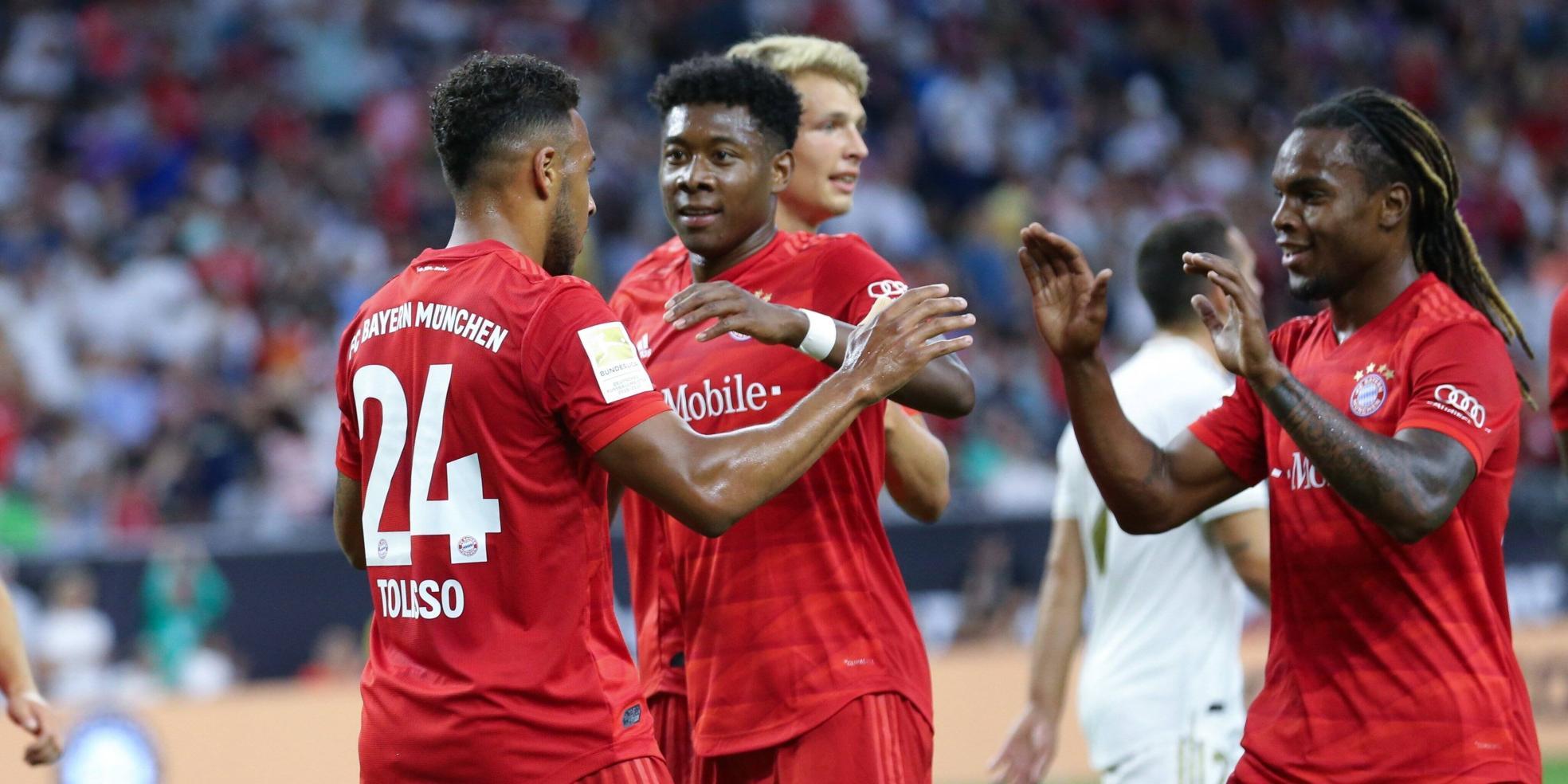 Corentin Tolisso trifft für den FC Bayern München