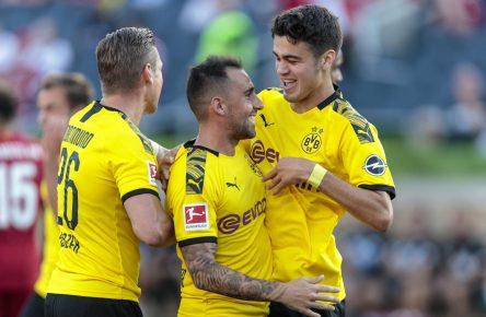 Dortmund vs. Liverpool - Paco Alcacer trifft