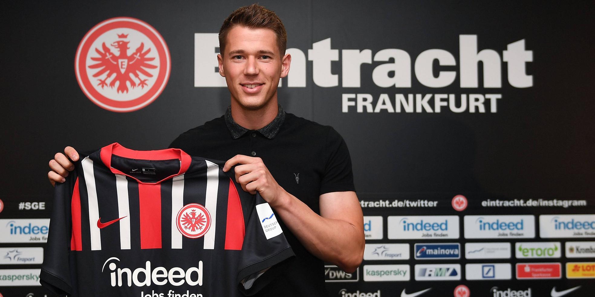 Erik Durm von Eintracht Frankfurt