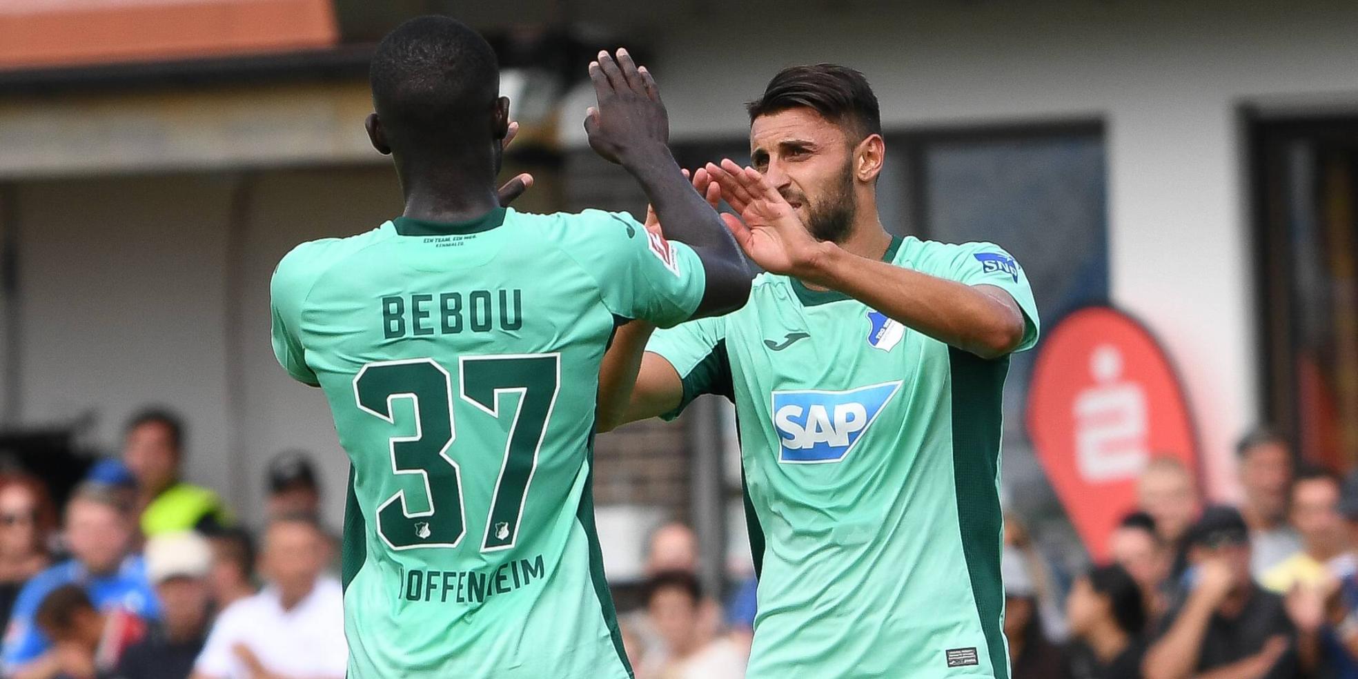 Ihlas Bebou und Vincenzo Grifo