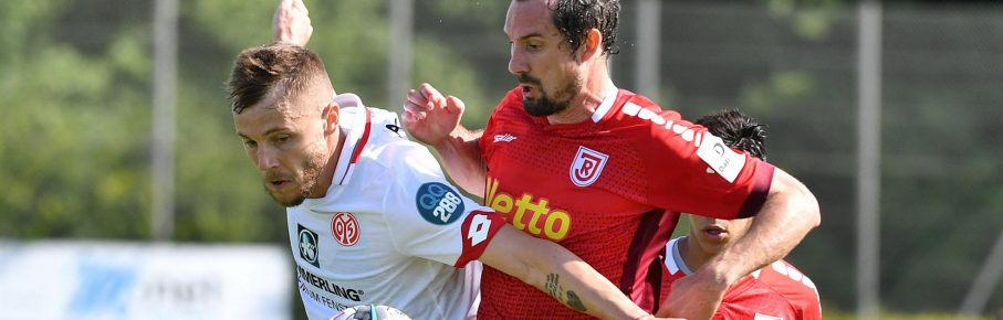 Alexandru Maxim im Mainzer Test gegen Regensburg