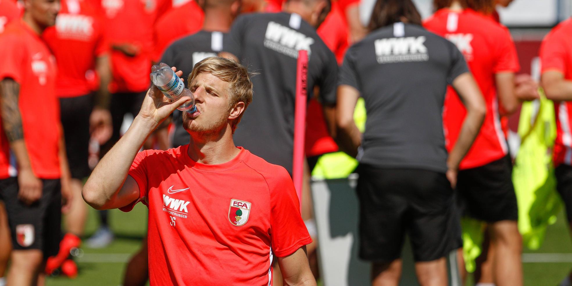 Martin Hinteregger vom FC Augsburg