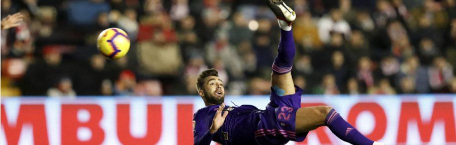 Partido de Liga entre el Rayo y el Celta en Vallecas. En la imagen, Brais Mendez.Spanish League match between Rayo and Celta. In this picture, Brais Mendez. PUBLICATIONxINxGERxSUIxAUTxHUNxONLY