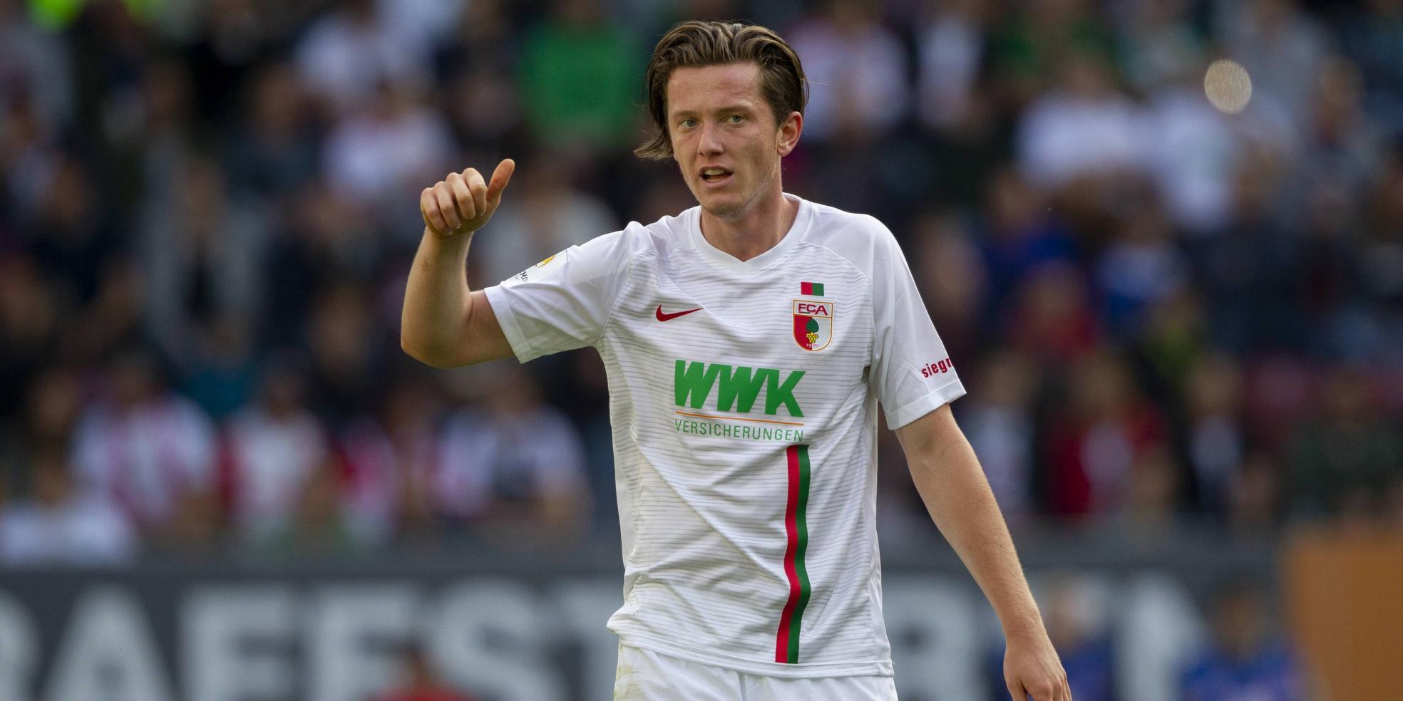 Michael Gregoritsch vom FC Augsburg