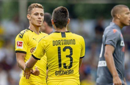 Thorgan Hazard von Borussia Dortmund