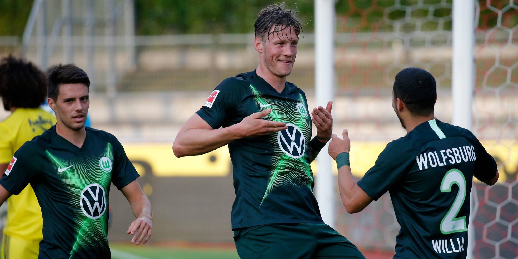 Wout Weghorst vom VfL Wolfsburg