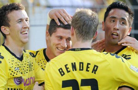 Borussia Dortmund absolvierte damals gegen den FC Augsburg sein 1500. Bundesligaspiel.