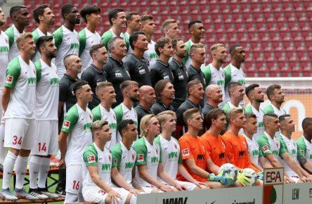 Das Mannschaftsfoto des FC Augsburg für die Saison 2019/20.