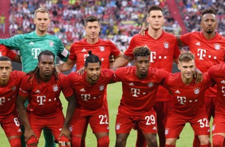 Der FC Bayern München vor der Saison 2019/20.