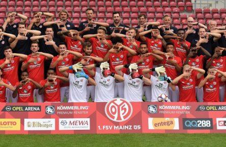 Der FSV Mainz 05 vor der Saison 2019/20.