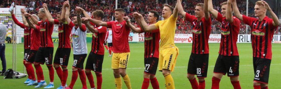 Der SC Freiburg startete mit einem 3:0-Siegen über den FSV Mainz in die Saison.