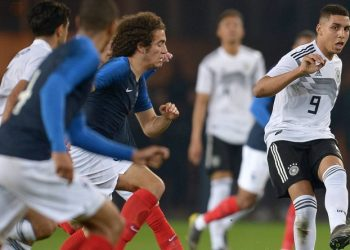 Abdelhamid Sabiri (r.) lief insgesamt fünf Mal für die deutsche U21 auf.