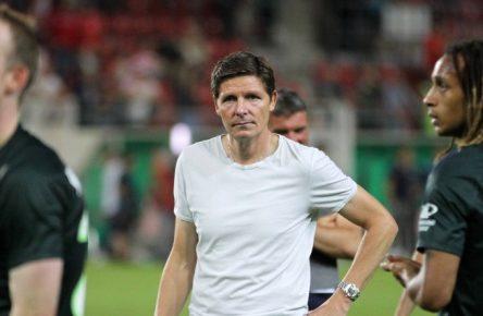 Der VfL Wolfsburg tat sich im Pokal gegen den Halleschen FC schwer.