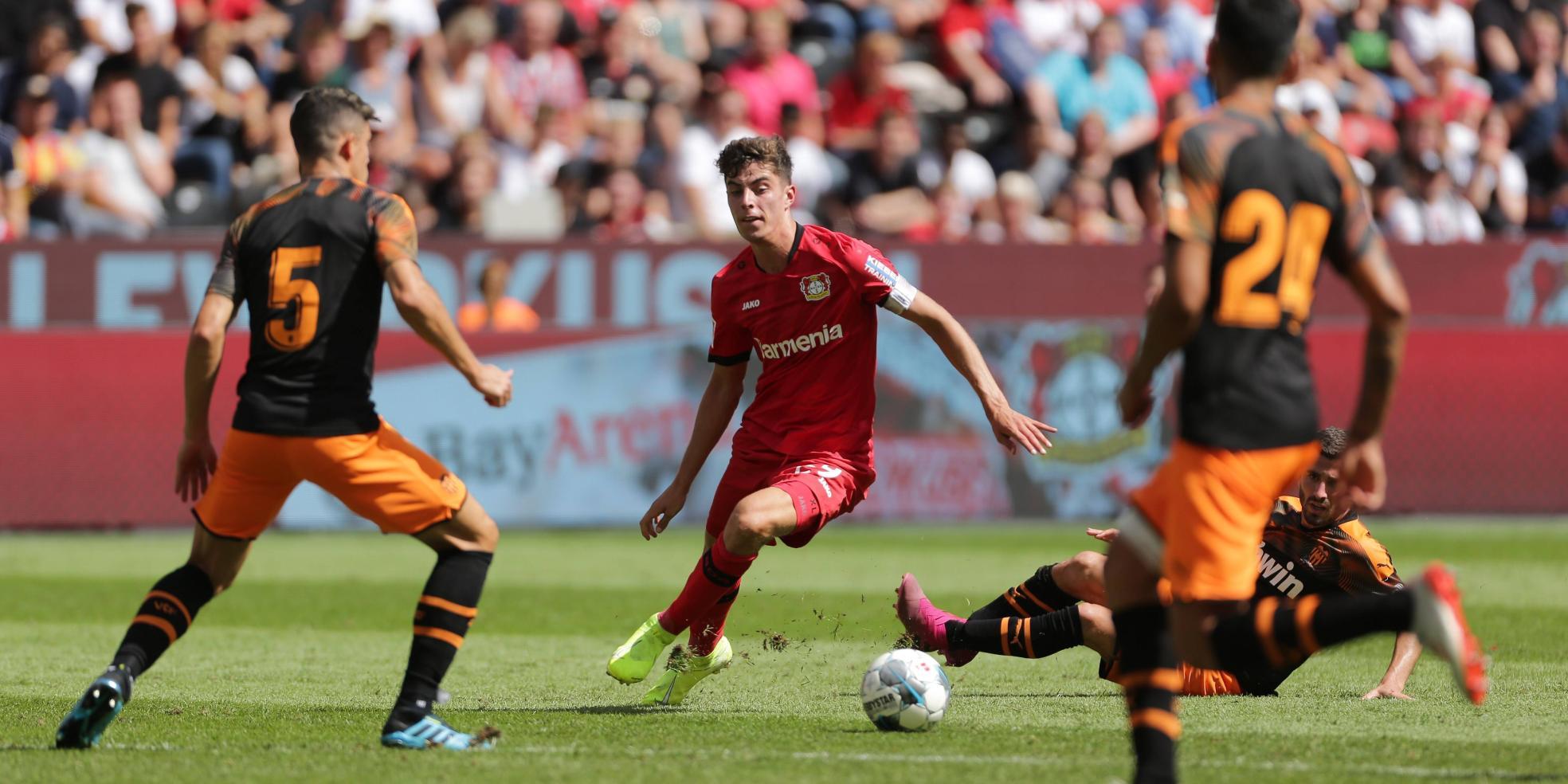 Kai Havertz im Testspiel gegen Valencia
