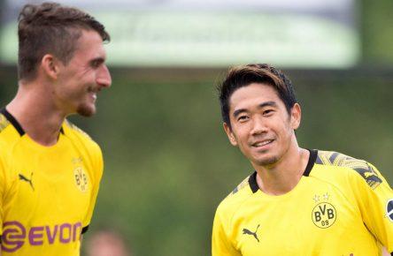 Maximilian Philipp und Shinji Kagawa verlassen Dortmund