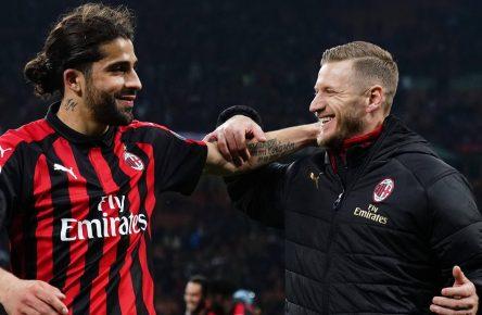 Ricardo Rodriguez vom AC Mailand