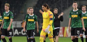 Historische Pleite:Borussia Mönchengladbach unterlag dem Wolfsberge AC mit 0:4.