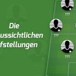 Die voraussichtlichen Aufstellungen: Fortuna Düsseldorf – Werder Bremen