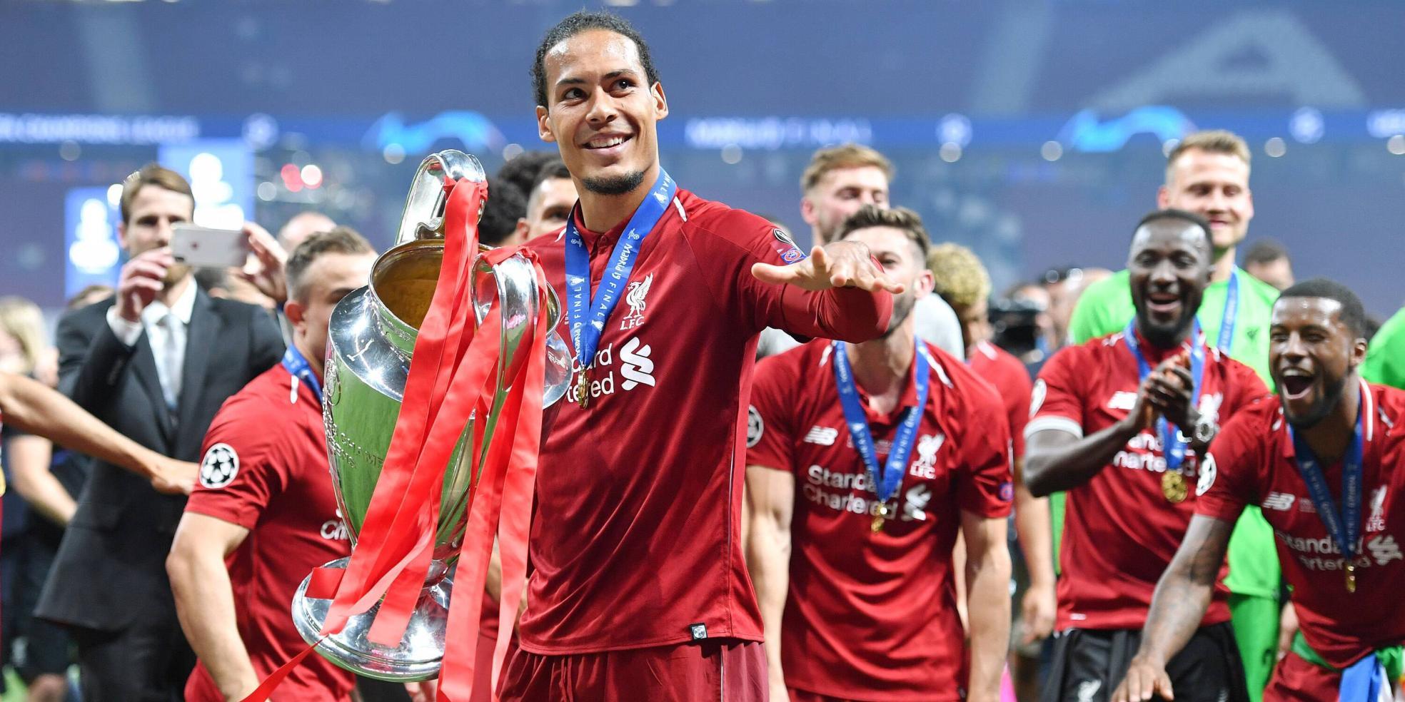 Virgil van Dijk vom FC Liverpool