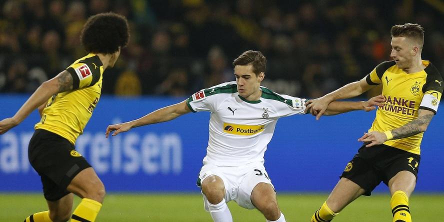 Borussia Mönchengladbach trifft als Tabellenführer auf den BVB.